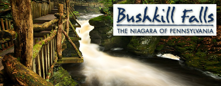 Bushkill Falls Banner